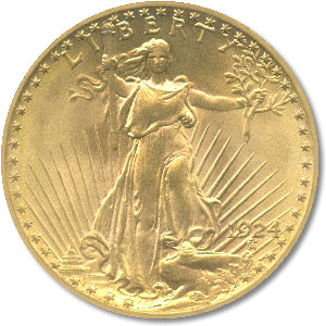 Exact Change gold coin