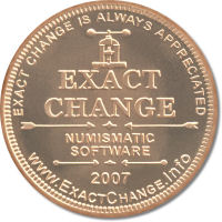 Exact Change coin reverse